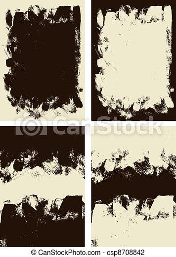Abstract grunge background - csp8708842