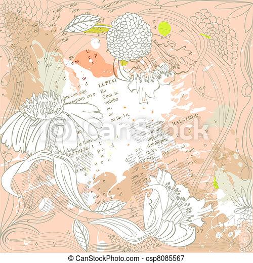 Abstract grunge background - csp8085567