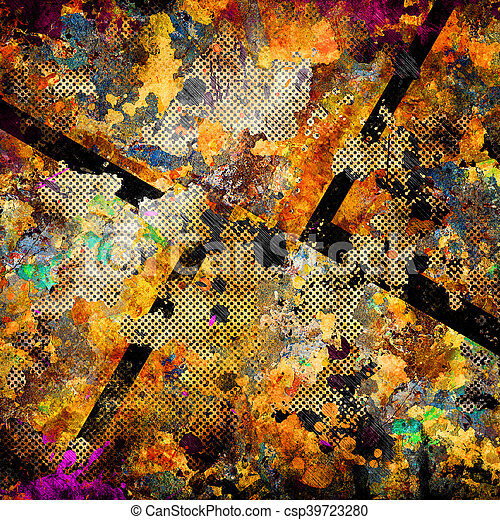 abstract grunge background - csp39723280