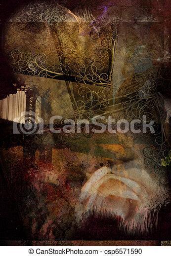 Abstract Grunge - csp6571590