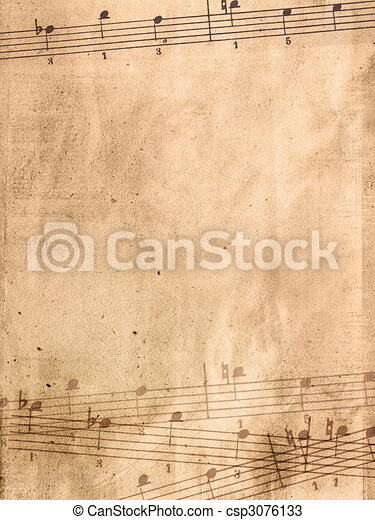 Abstract grunge melody textures and backgrounds  - csp3076133