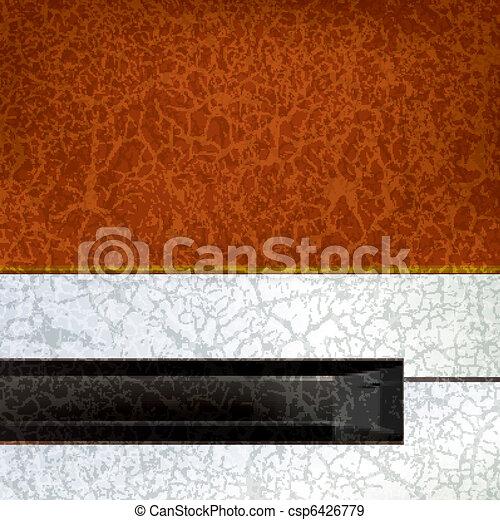abstract grunge music background - csp6426779