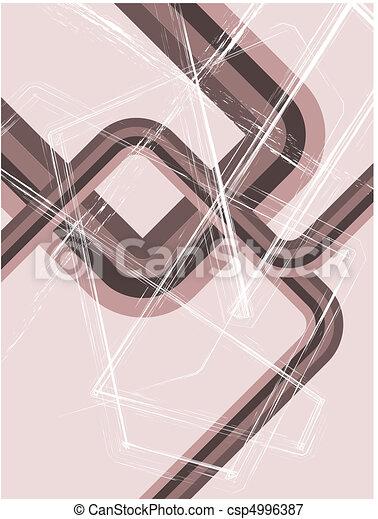 Abstract grunge retro background - csp4996387