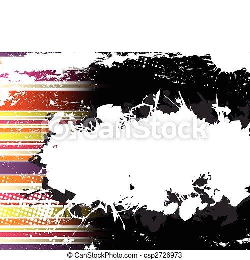 Abstract Grunge Stripe Background - csp2726973
