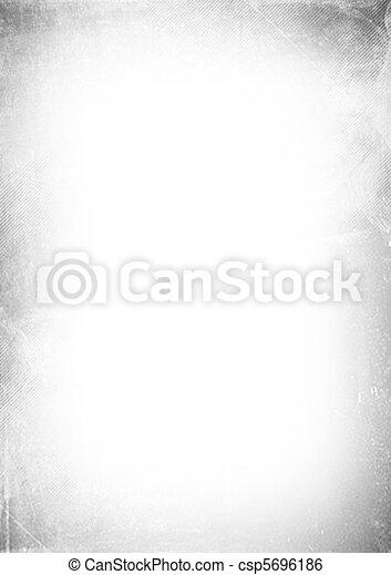 abstract, grunge, witte achtergrond - csp5696186