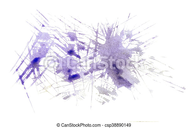 Abstract hand drawn water colour background - csp38890149