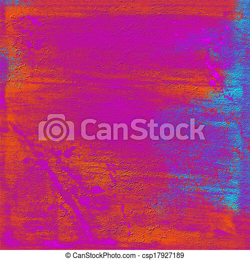 Abstract hand painted background - csp17927189