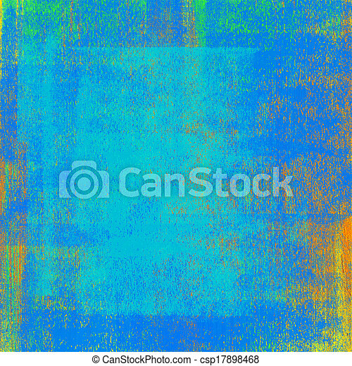 Abstract hand painted background - csp17898468