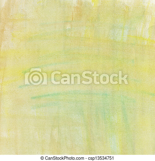 Abstract hand painted watercolor background. - csp13534751
