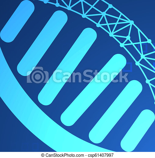 Abstract health science consist DNA digital technology concept modern  medical technology,Treatment,medicine on hi tech future blue background   for