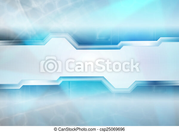 Abstract hi-tech background - csp25069696
