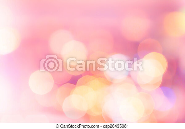 Abstract holiday twinkled bright background with natural bokeh d - csp26435081