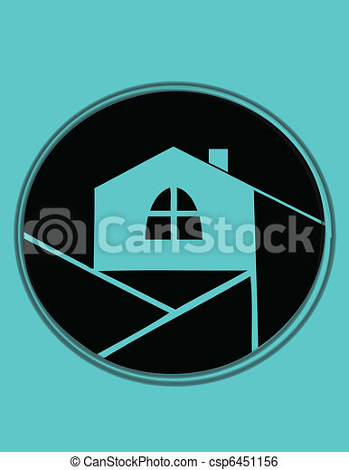 Abstract House  - csp6451156
