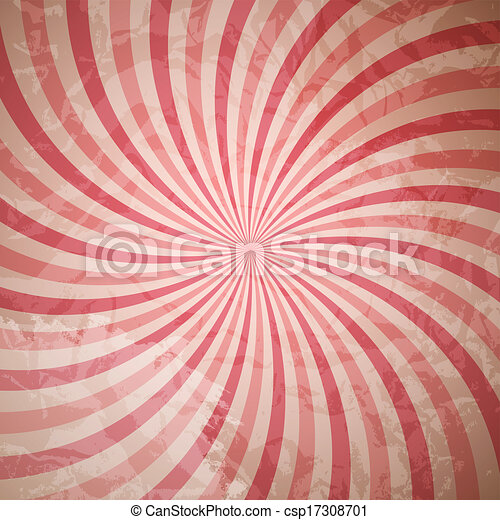 Abstract Hypnotic Background. Vector Illustration - csp17308701