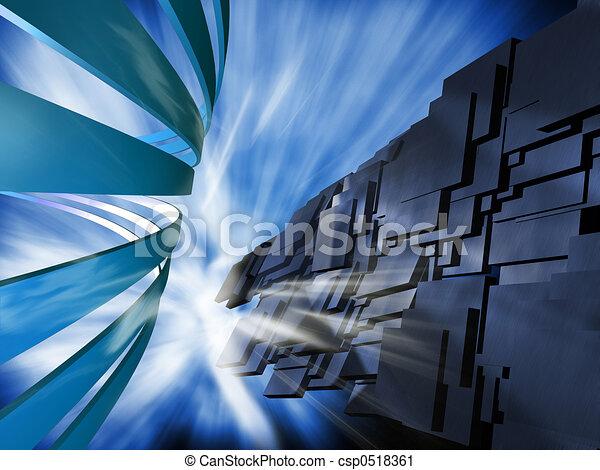 Abstract illustration - csp0518361