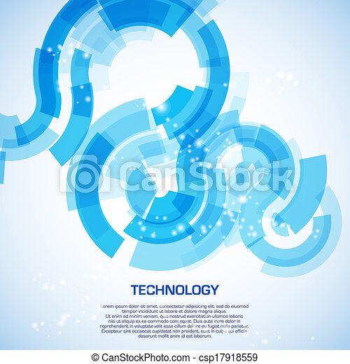 Abstract illustration with space for your business message - csp17918559