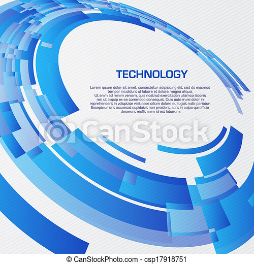 Abstract illustration with space for your business message - csp17918751