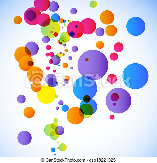 Abstract illustration with space for your business message - csp18221325