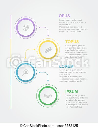 Abstract infographics number options template with 3d paper label abstract infographics number options template with 3d paper label integrated circles business concept diagram banner maxwellsz
