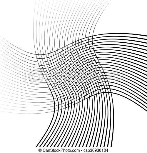 Abstract intersecting lines, grid mesh pattern - csp36938184