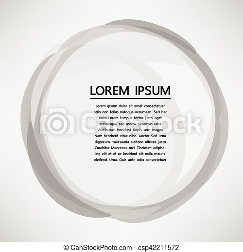 abstract label pattern overlay circle vector abstract label