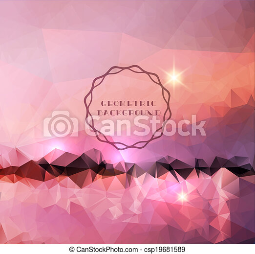 Abstract landscape  - csp19681589