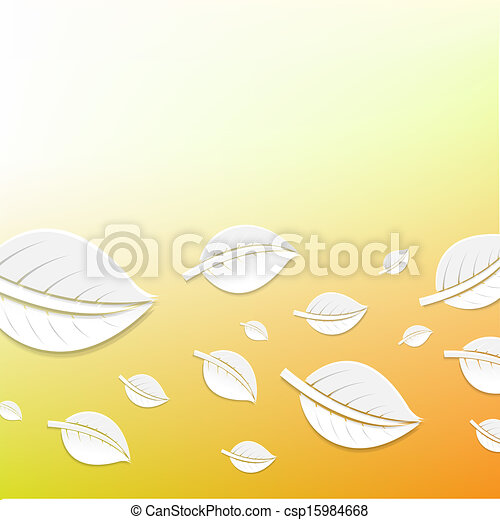 Abstract Leaves - csp15984668