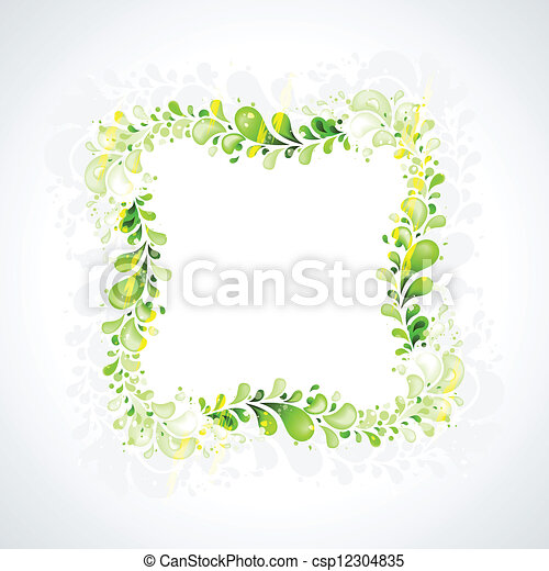 abstract leaves - csp12304835