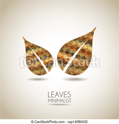 abstract leaves  - csp14080432