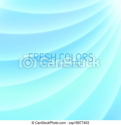 Abstract Light Blue Background - csp18977403
