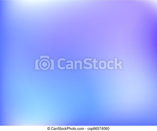Abstract Light Blue Violet Bright Blured Gradient Background Vector Llustration