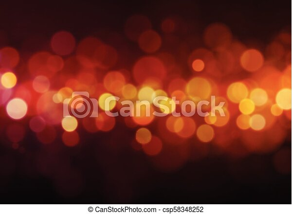 Abstract Light Bokeh Background - csp58348252