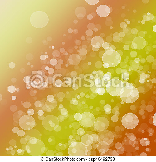 Abstract Light Bokeh Background - csp40492733