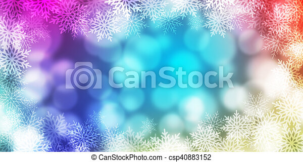 abstract light Bokeh background - csp40883152