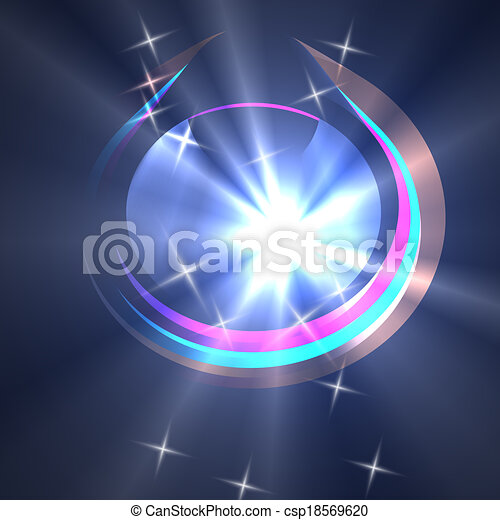 abstract light - csp18569620