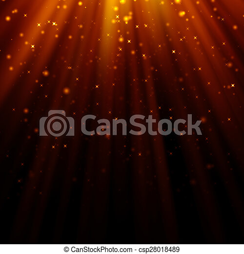 abstract light god and glitter background - csp28018489