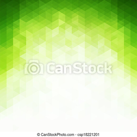 Abstract light green background - csp18221201