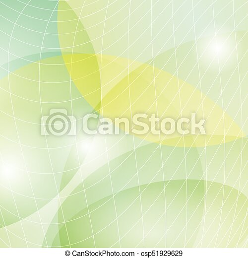 Abstract Light Green Vector Background With Light Mesh