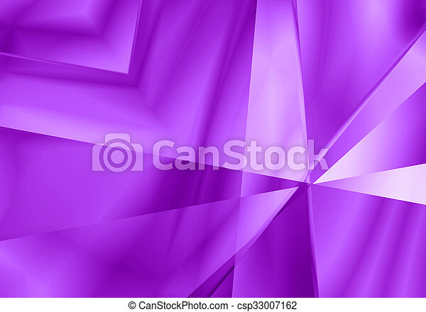 Abstract Light Mirror Shape Purple Color Background