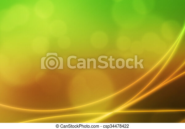 Abstract Light Waves Backdrop - csp34478422