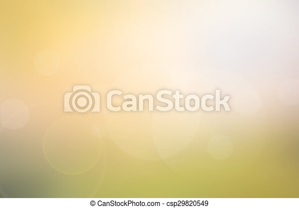 Abstract light yellow-green blurred background - csp29820549