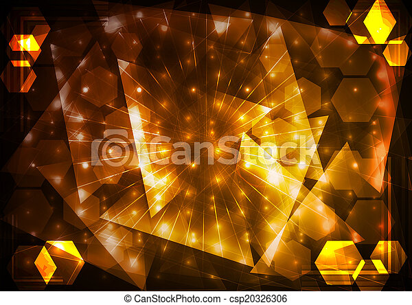 Abstract lighting background - csp20326306