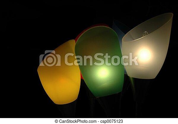 Abstract lighting - csp0075123