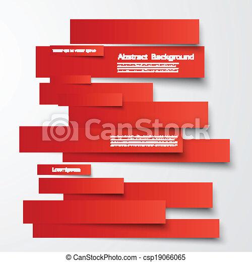 abstract, lijnen, vector, informatieboekje , kaart, design. - csp19066065