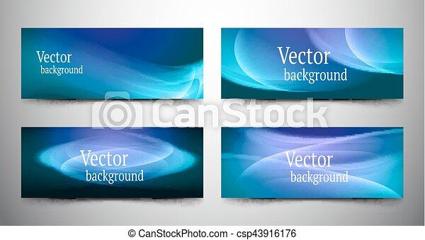 abstract line banner set - csp43916176