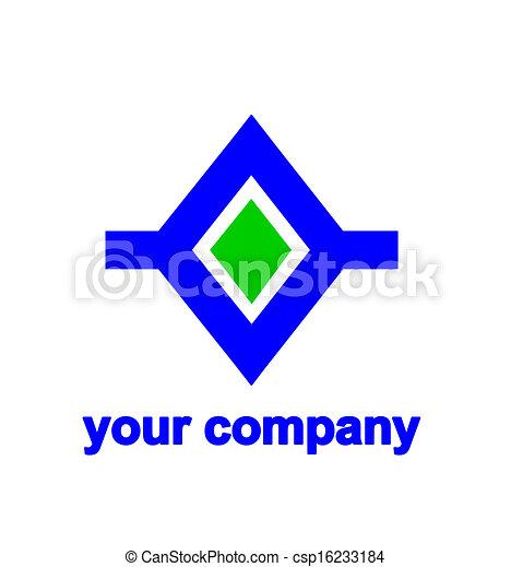 Abstract logo.  - csp16233184