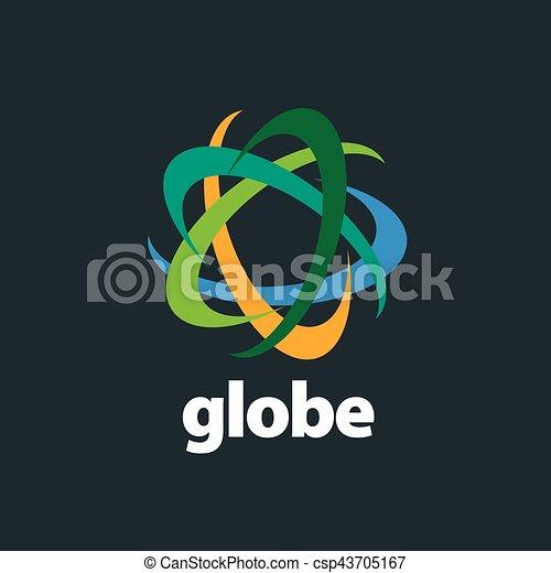 abstract logo Globe - csp43705167