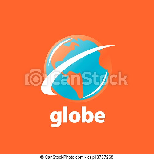 abstract logo Globe - csp43737268
