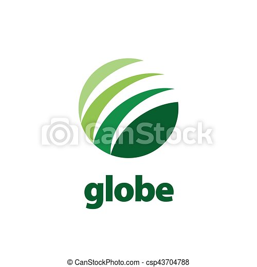 abstract logo Globe - csp43704788