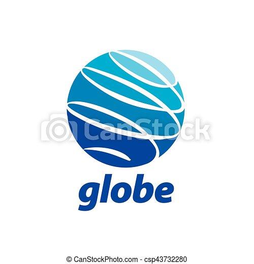 abstract logo Globe - csp43732280